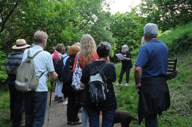 Worcestershire Poet Emeritus, Maggie Doyle, reads her wonderful poetry on The Malverns