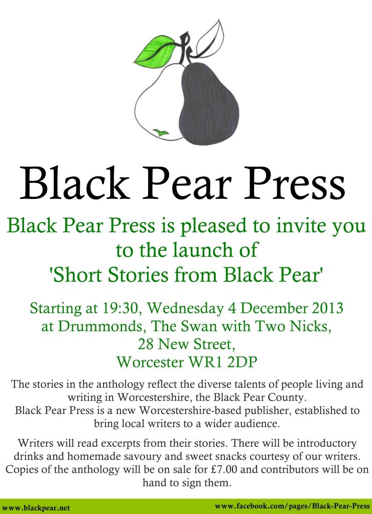 Black Pear Press Poster