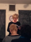 Claire Dyer reads 'Thinking of Manatees' her Highly Commended poem