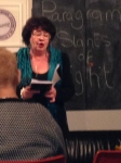 The winning poet - Vivienne Vermes reads 'Mrs Pan'