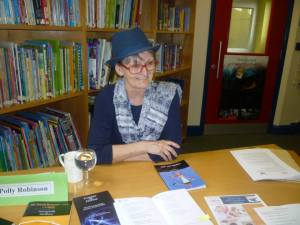 Polly at Living Library