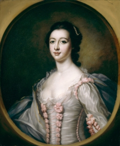 After Francis Cotes (1726-1770) Portrait of Maria Gunning, Countess of Coventry (1733-1760), Wife of the 6th Earl, after 1751