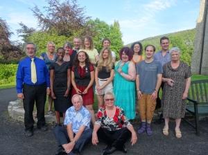 Arvon poets at The Hurst 2014 - by Richard Stephenson