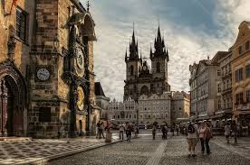 The wonderful city of Prague in the spring