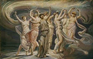 The Pleiades (1885) by the Symbolist painter Elihu Vedder