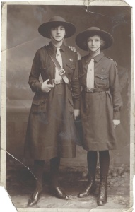 Mike's mum as a Guide circa 1920